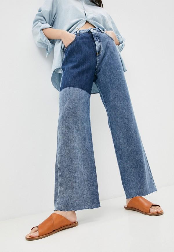 женские джинсы клеш beatrice.b, синие