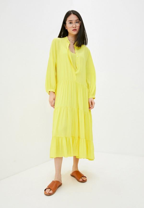 женское платье beatrice.b, желтое