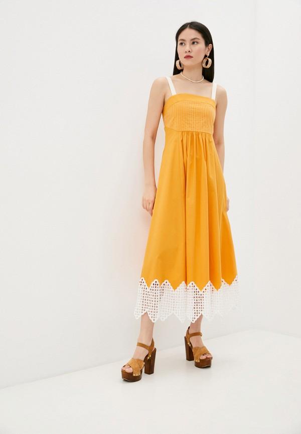женский сарафан beatrice.b, желтый