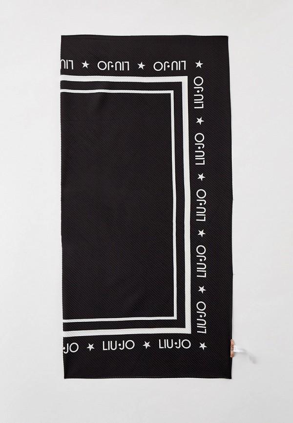 женский платок liu jo, черный