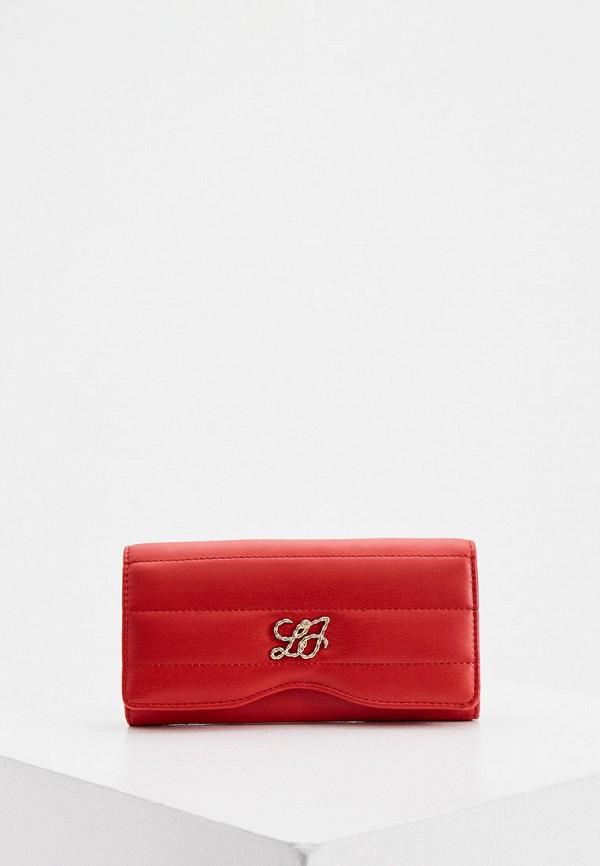 женский кошелёк liu jo, красный