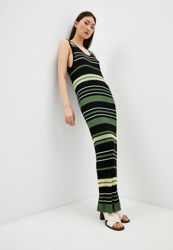 женское платье liu jo, зеленое