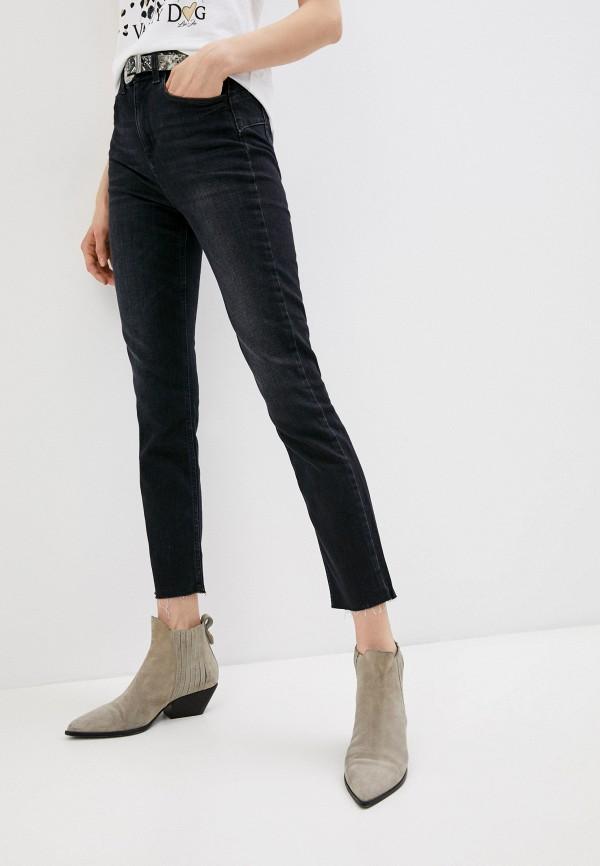 женские джинсы скинни liu jo, черные