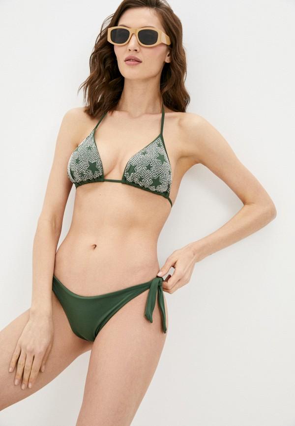 женский лиф liu jo, зеленый