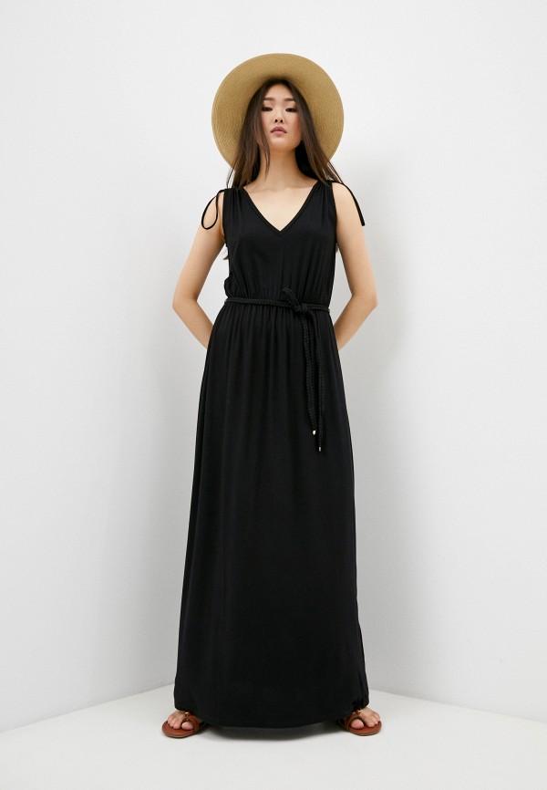 женское повседневные платье liu jo, черное
