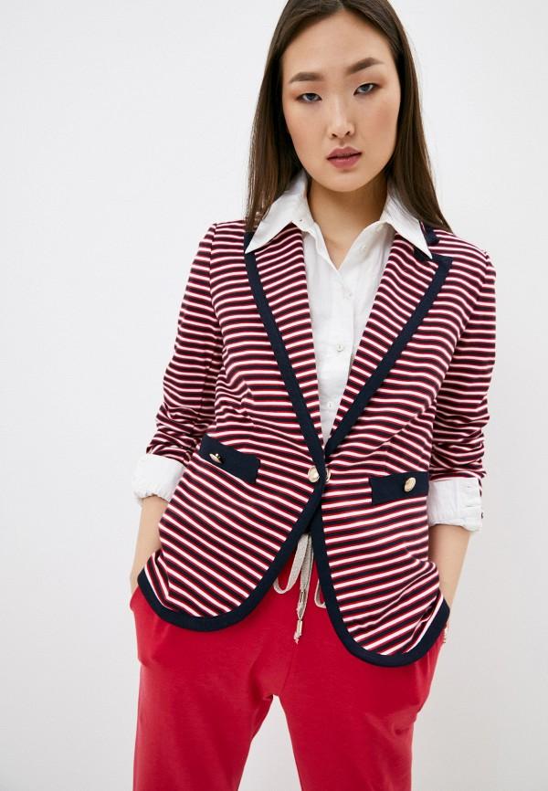 женский пиджак liu jo, разноцветный