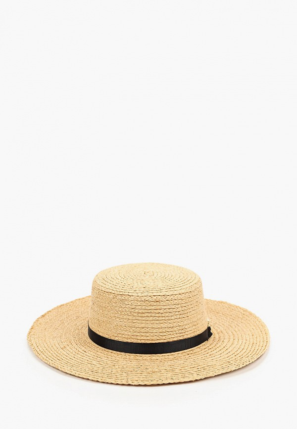 женская шляпа tommy hilfiger, бежевая