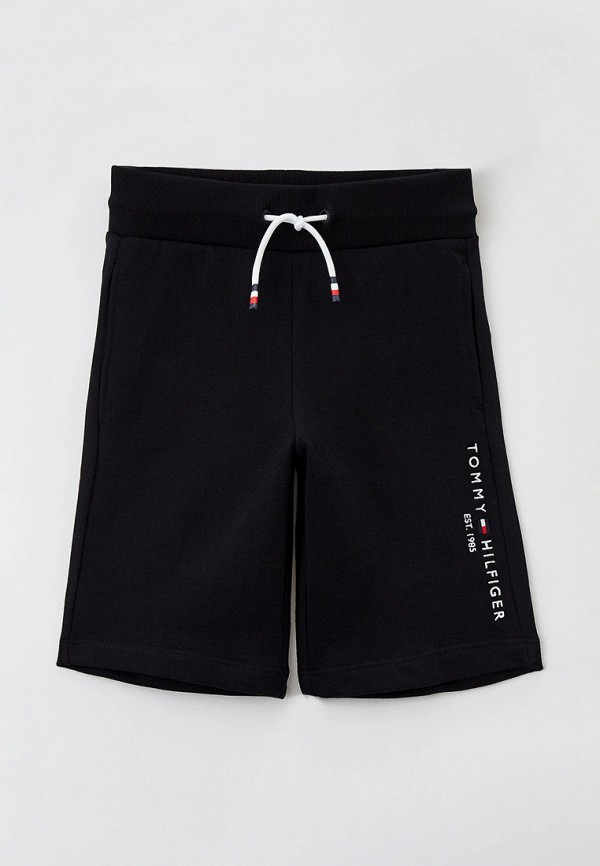 спортивные шорты tommy hilfiger для мальчика, черные
