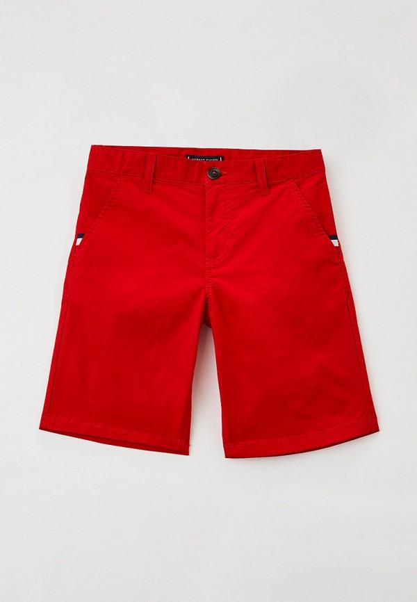 шорты tommy hilfiger для мальчика, красные