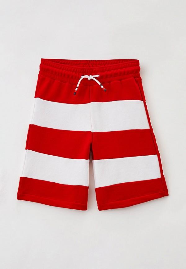 спортивные шорты tommy hilfiger для мальчика, красные