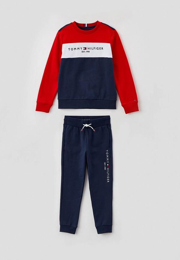 спортивный костюм tommy hilfiger для мальчика, синий