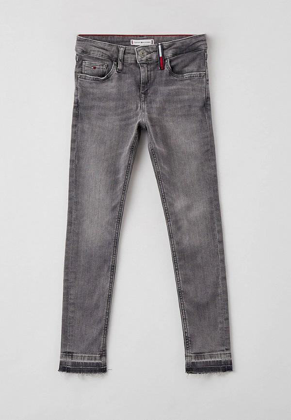 джинсы tommy hilfiger для девочки, серые