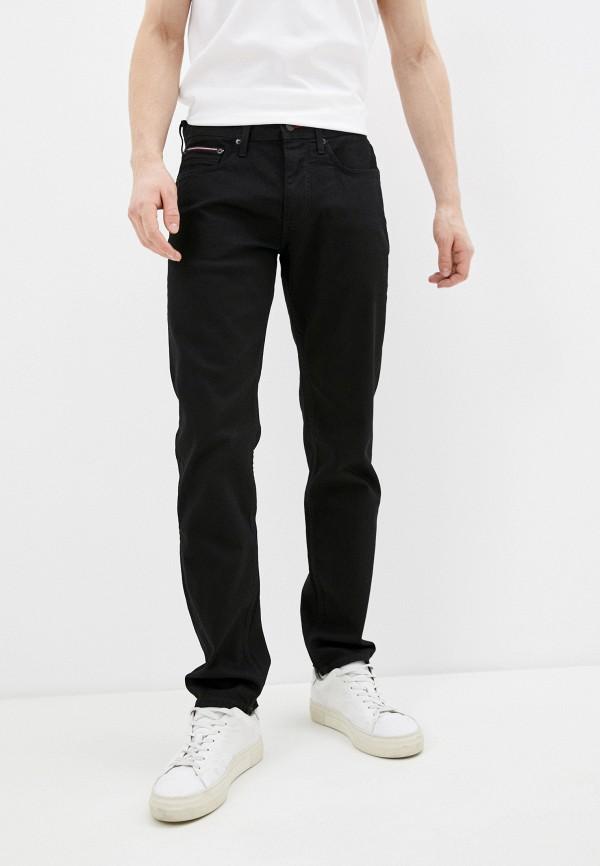 мужские прямые джинсы tommy hilfiger, черные
