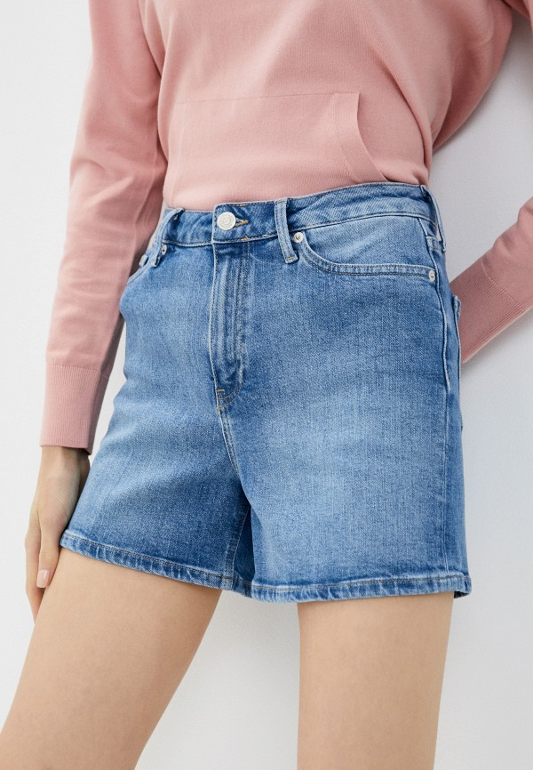 Шорты джинсовые Tommy Hilfiger голубого цвета