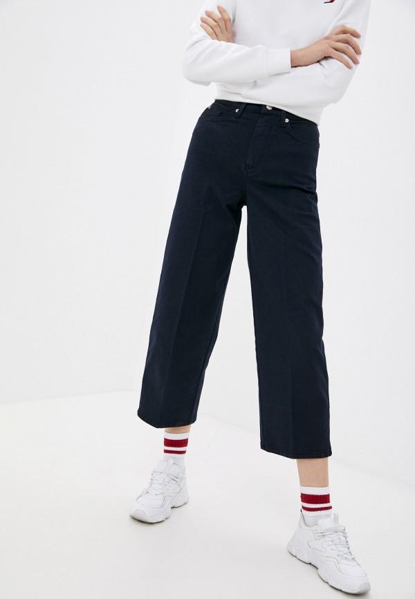 женские джинсы клеш tommy hilfiger, синие