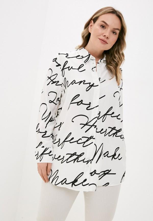 женская блузка ulla popken, серая