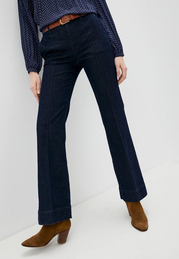 женские джинсы клеш lauren ralph lauren, синие