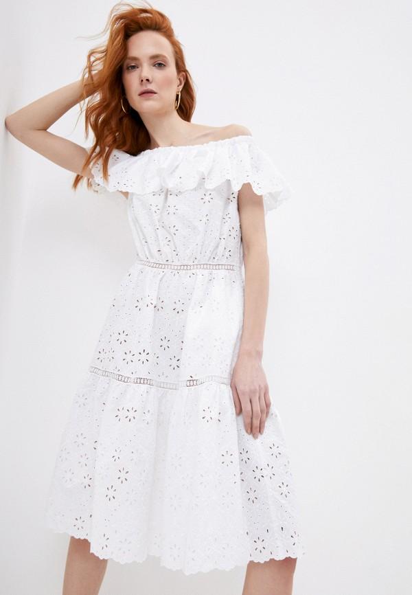 женское платье p.a.r.o.s.h, белое