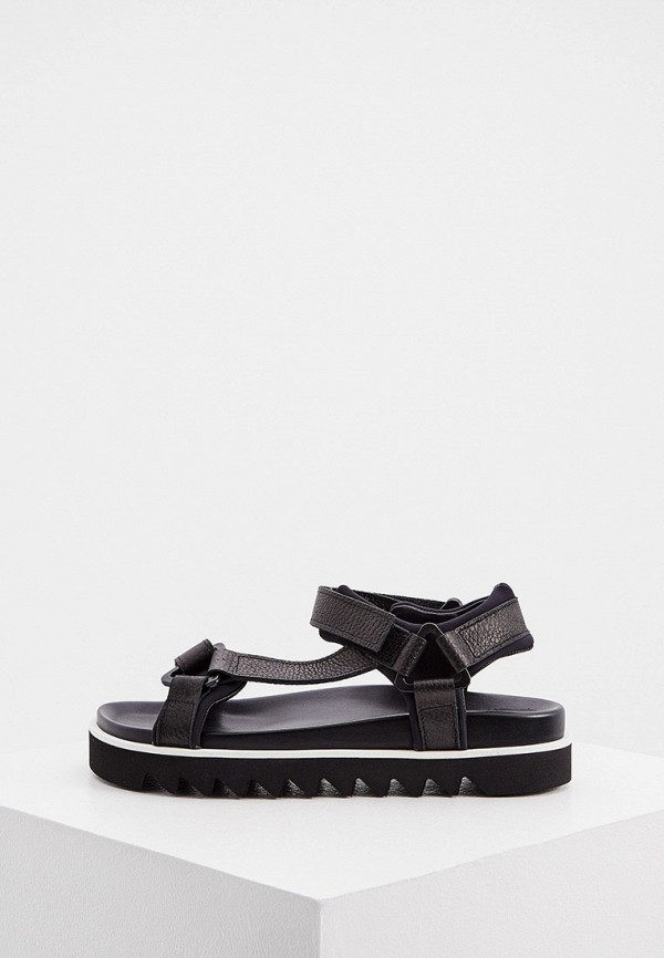 женские сандалии p.a.r.o.s.h, черные