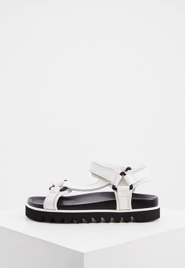женские сандалии p.a.r.o.s.h, белые