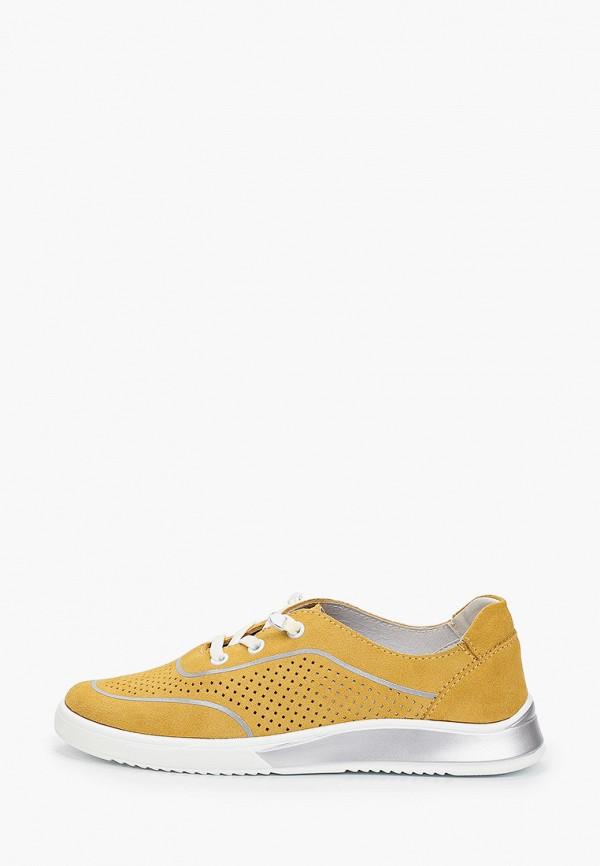 женские низкие кеды wilmar, желтые