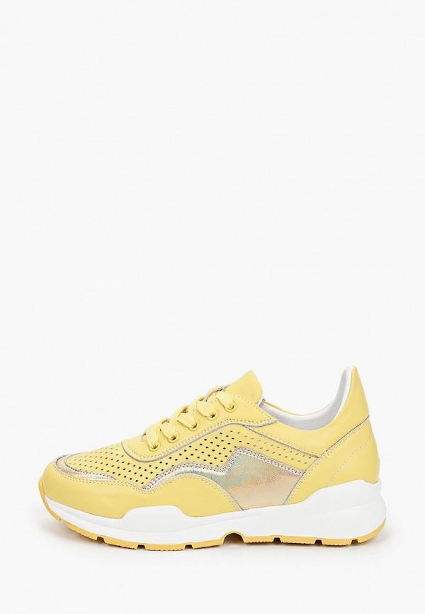 женские низкие кроссовки wilmar, желтые