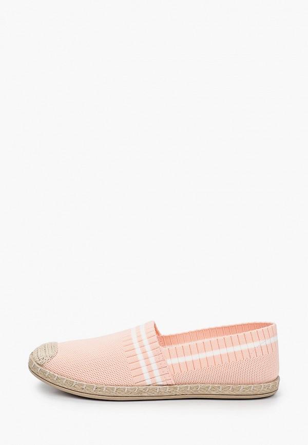 женские эспадрильи crosby, розовые