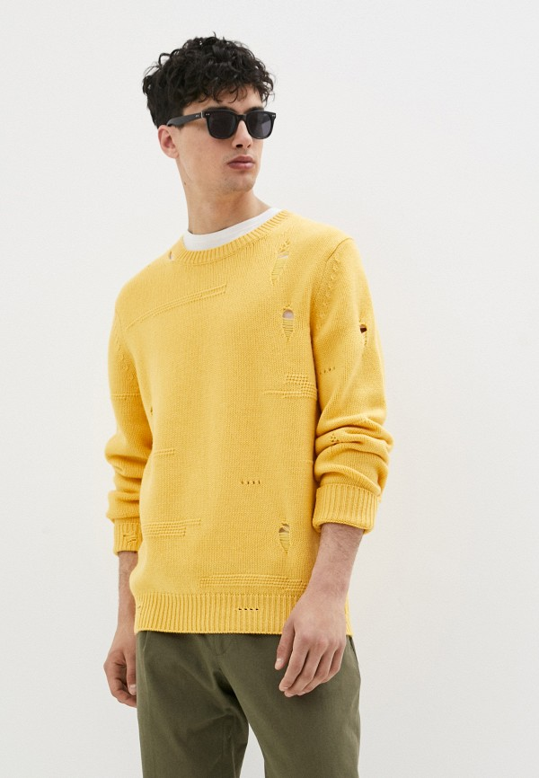 мужской джемпер helmut lang, желтый