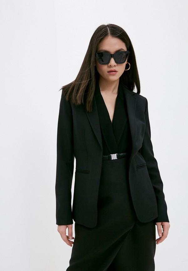 женский пиджак helmut lang, черный