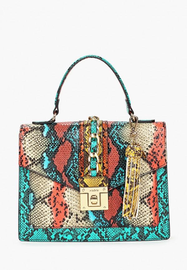 женская сумка aldo, разноцветная