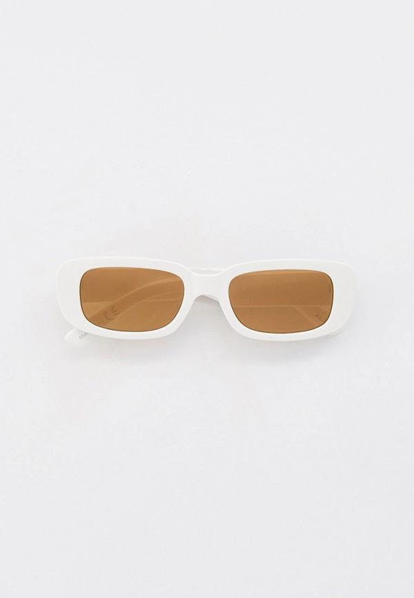 женские квадратные солнцезащитные очки aldo, белые
