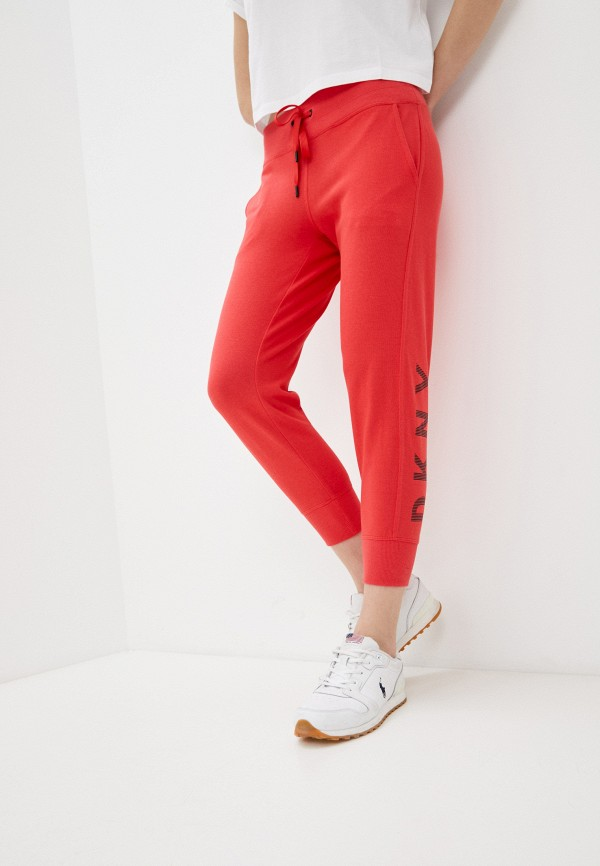 женские спортивные брюки dkny, красные