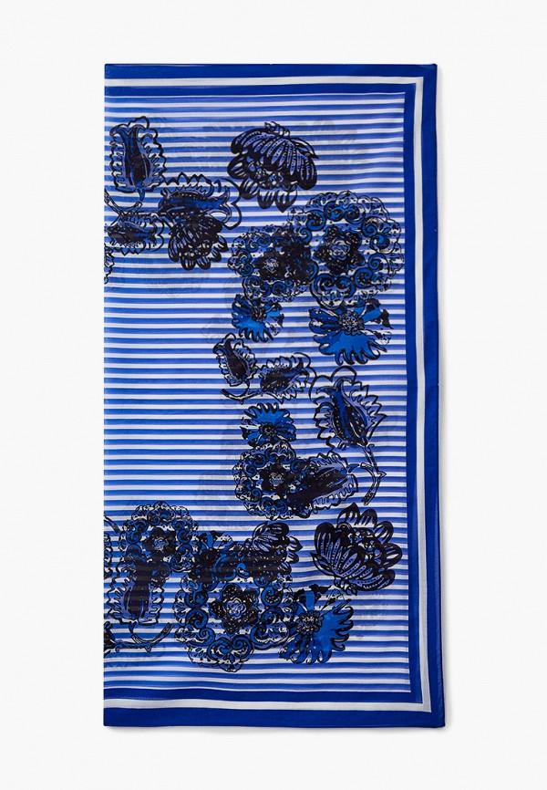 женский платок marina rinaldi sport, синий