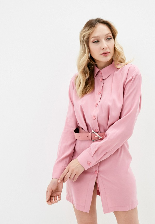 женское платье imperial, розовое