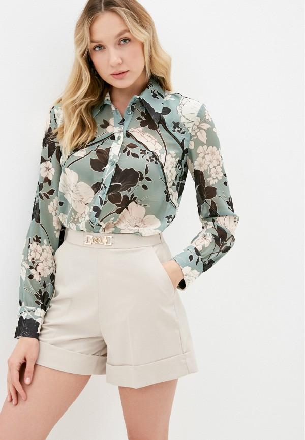 женская блузка imperial, зеленая