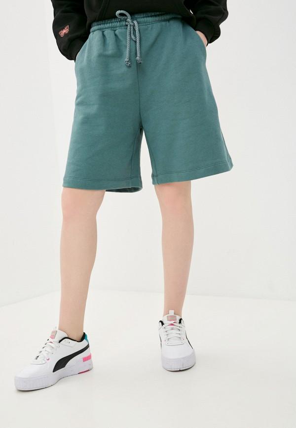 женские спортивные шорты imperial, зеленые