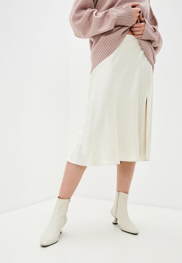 женская юбка imperial, бежевая