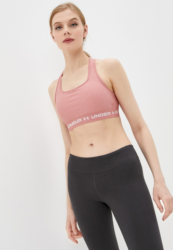 женский спортивный костюм under armour, розовый