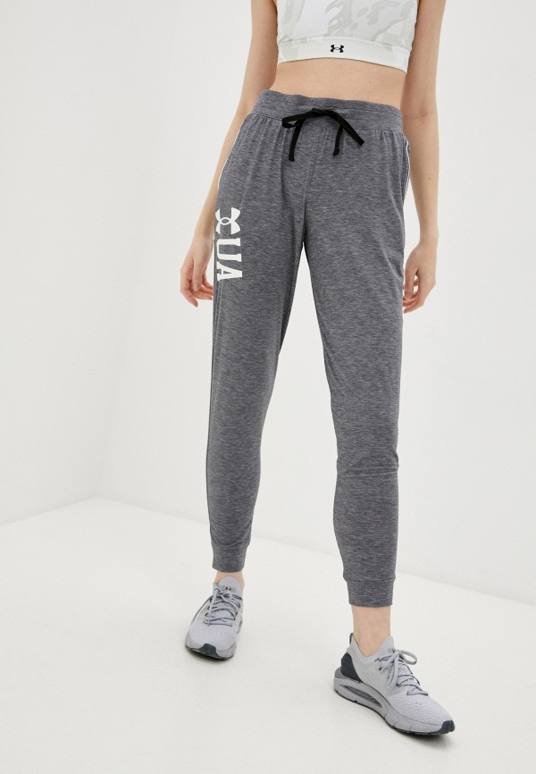 женские спортивные брюки under armour, серые