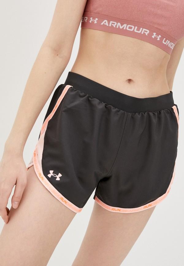 женские спортивные шорты under armour, серые