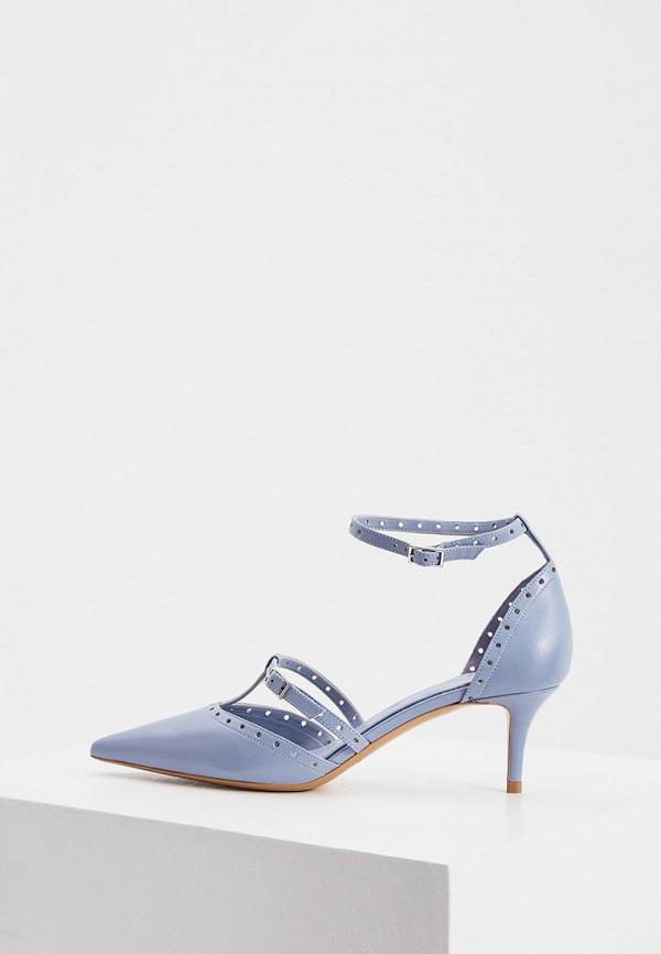 женские туфли emporio armani, голубые