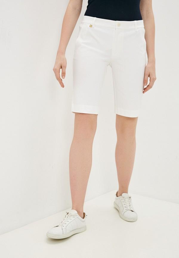 женские повседневные шорты lauren ralph lauren, белые