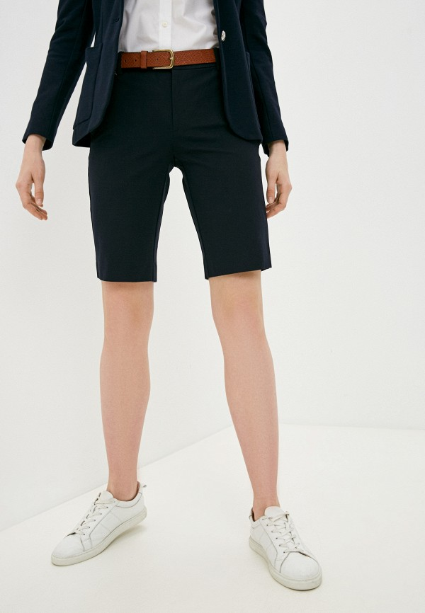 женские повседневные шорты lauren ralph lauren, синие