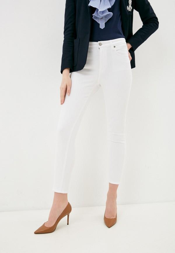 женские джинсы скинни lauren ralph lauren, белые