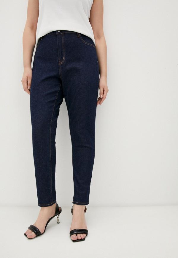 женские джинсы скинни lauren ralph lauren woman, синие