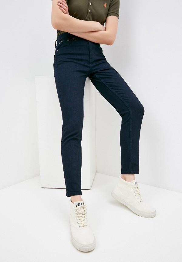 женские джинсы скинни polo ralph lauren, синие