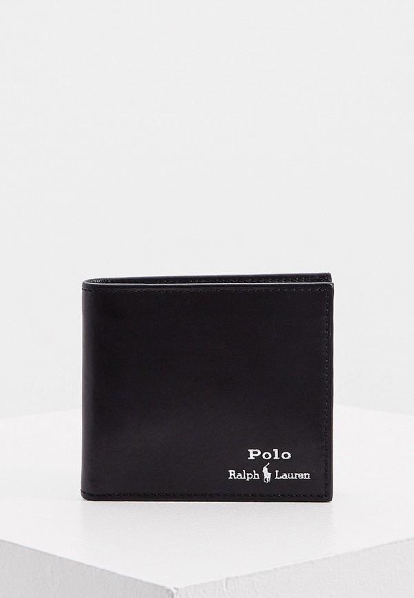 мужской кошелёк polo ralph lauren, черный