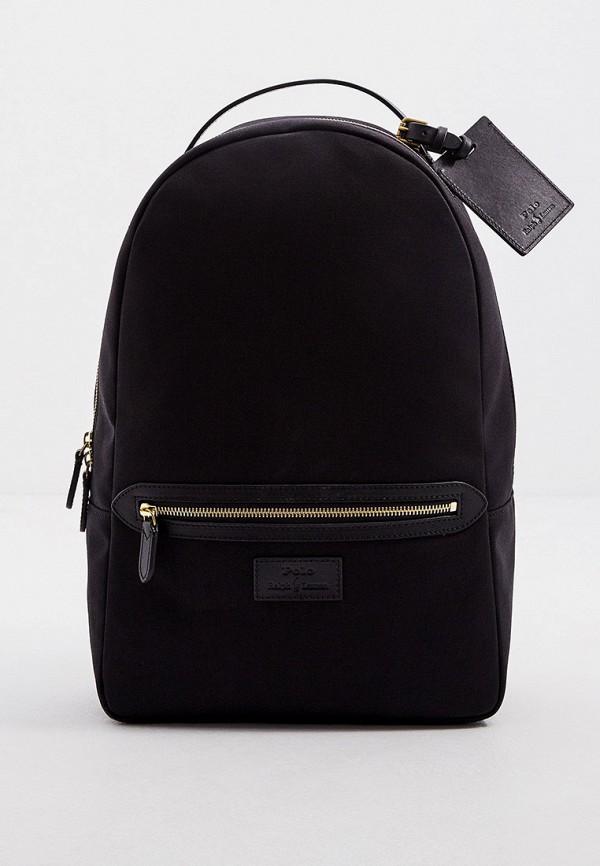 мужской рюкзак polo ralph lauren, черный