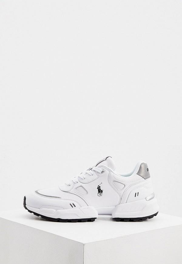 мужские низкие кроссовки polo ralph lauren, белые