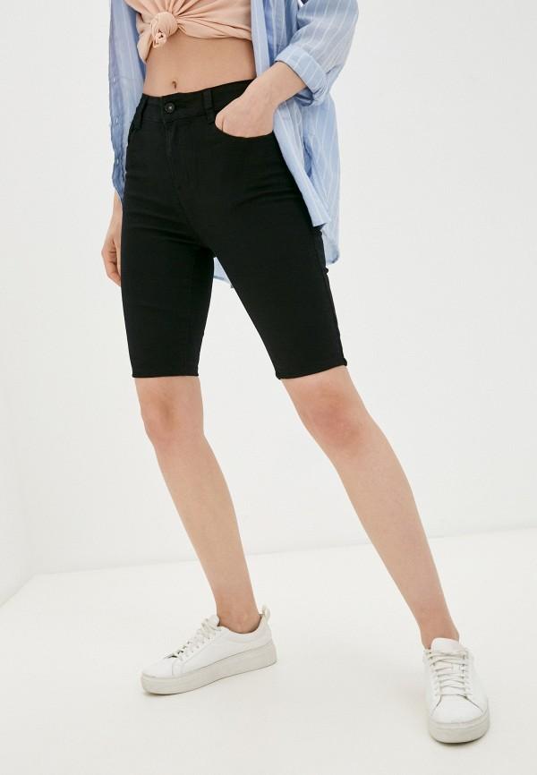 женские джинсовые шорты g&g, черные